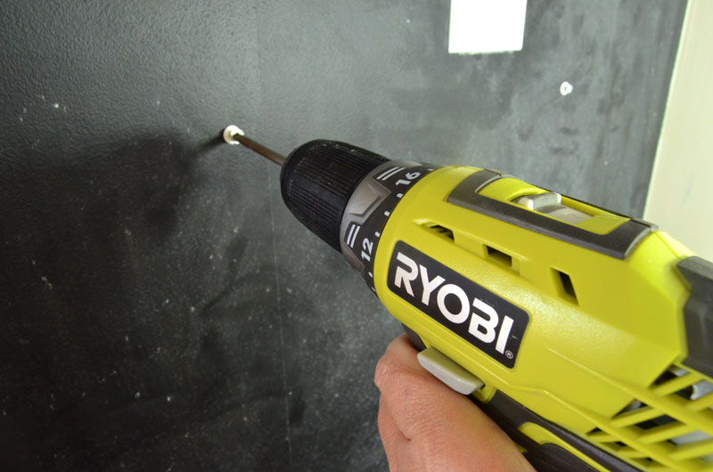 Step 5 Drill screw into anchor