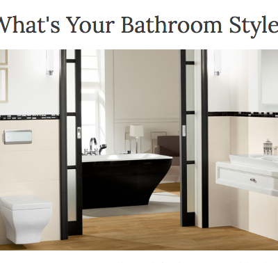 What is Your Bathroom Style? Quiz