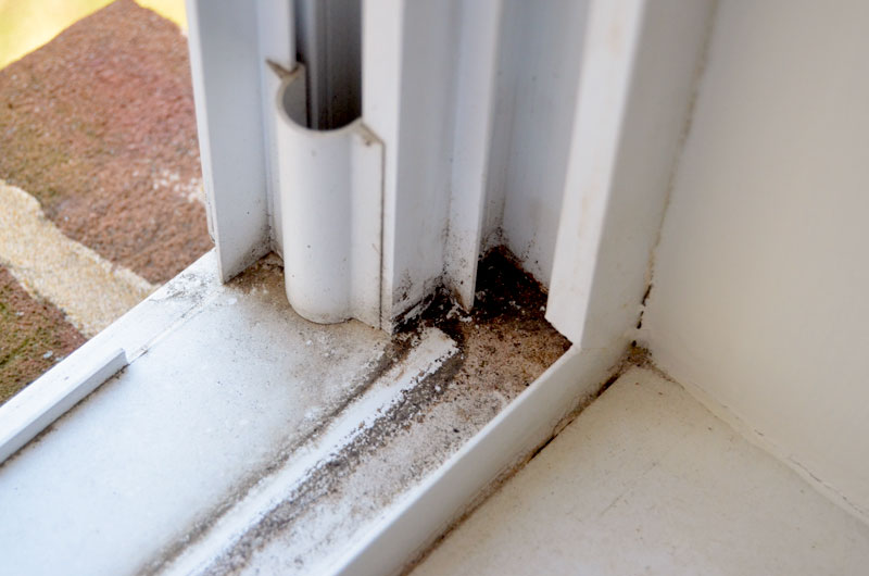 how to easily clean window tracks