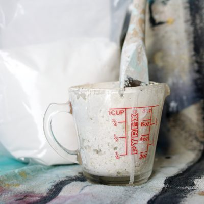 Homemade Chalky Style Paint