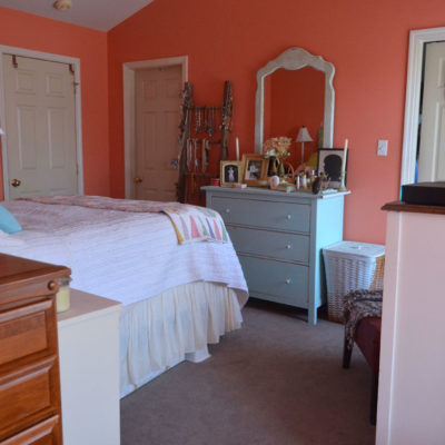 One Room Challenge – Week One {Master Bedroom}
