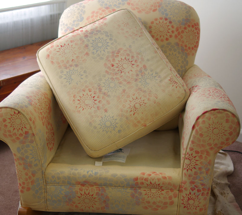 diy how to paint upholstered furniture