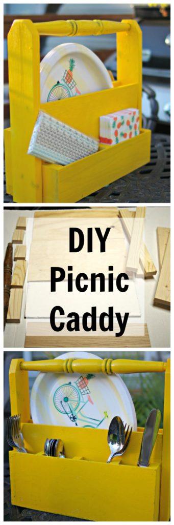 DIY Picnic Caddy