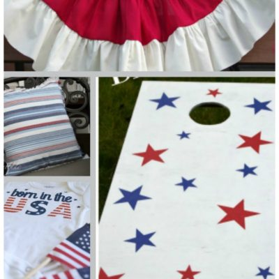 Red White and Blue Ideas for Summer