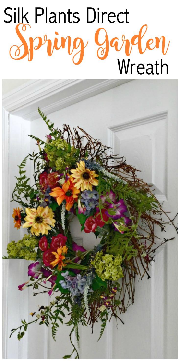Silk Flower Wreaths
