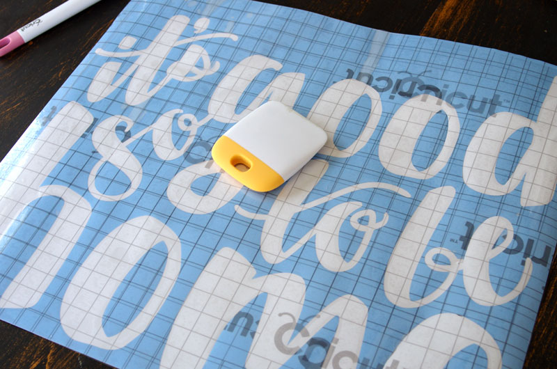how and why to use cricut u00ae stencil vinyl