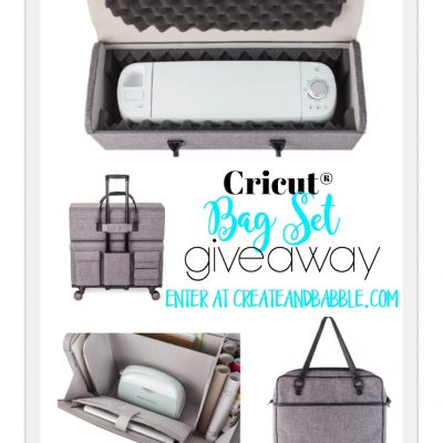 Cricut Bags and Totes