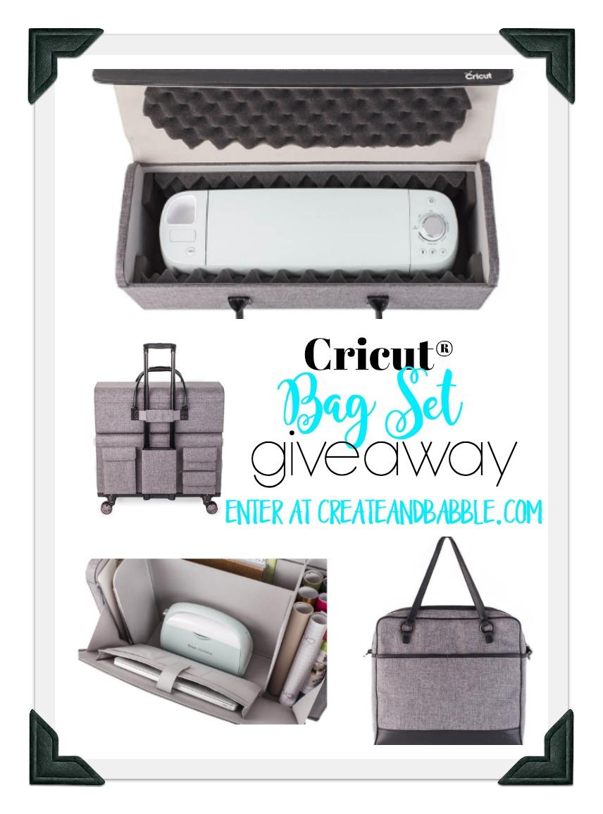 Cricut Bag Set Giveaway