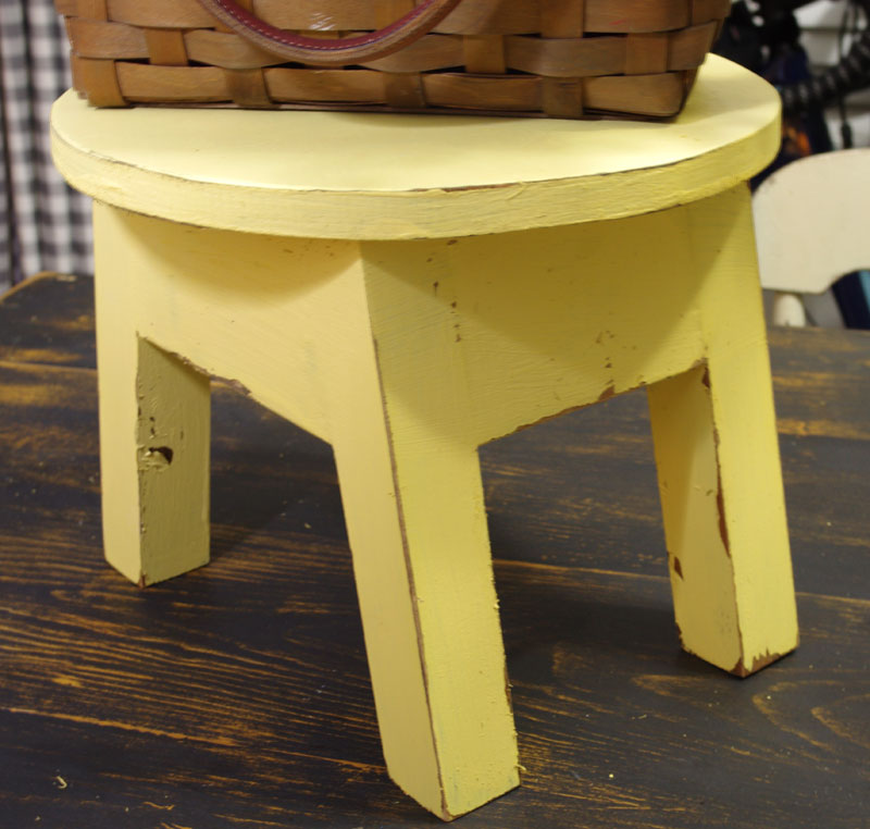 DIY Little Round Stool