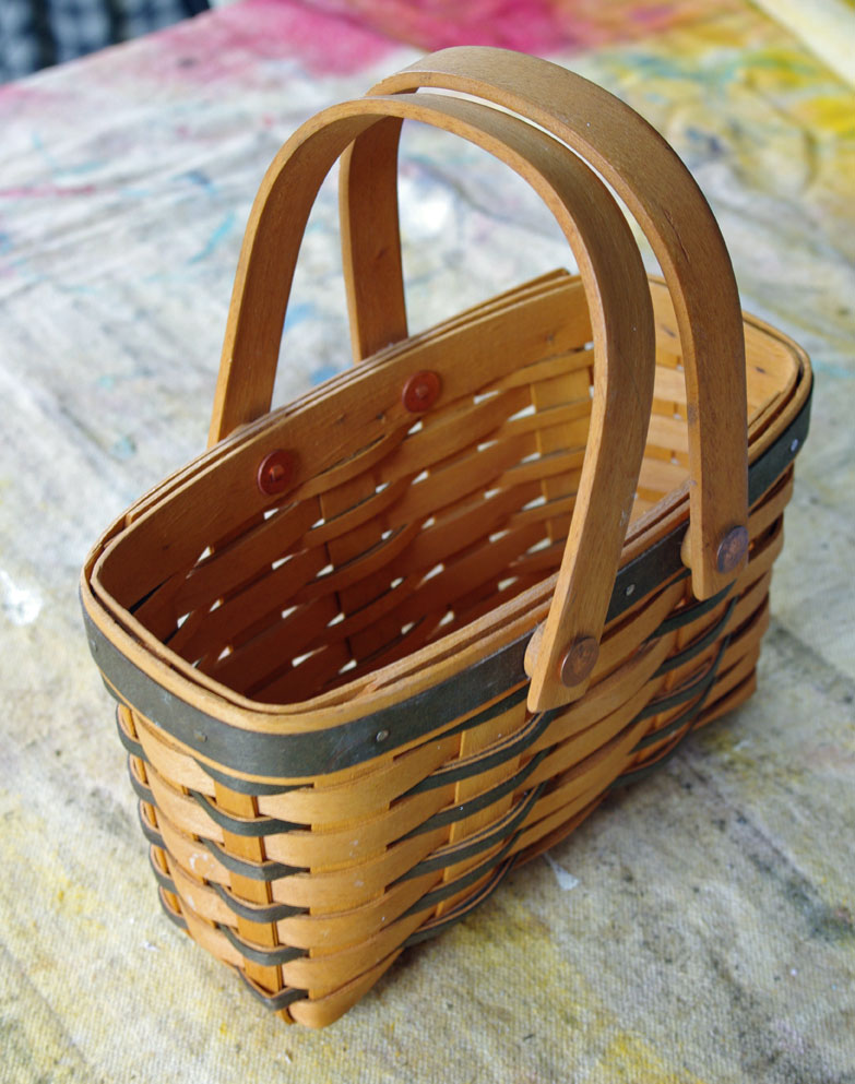 Decorating with baskets for Fall