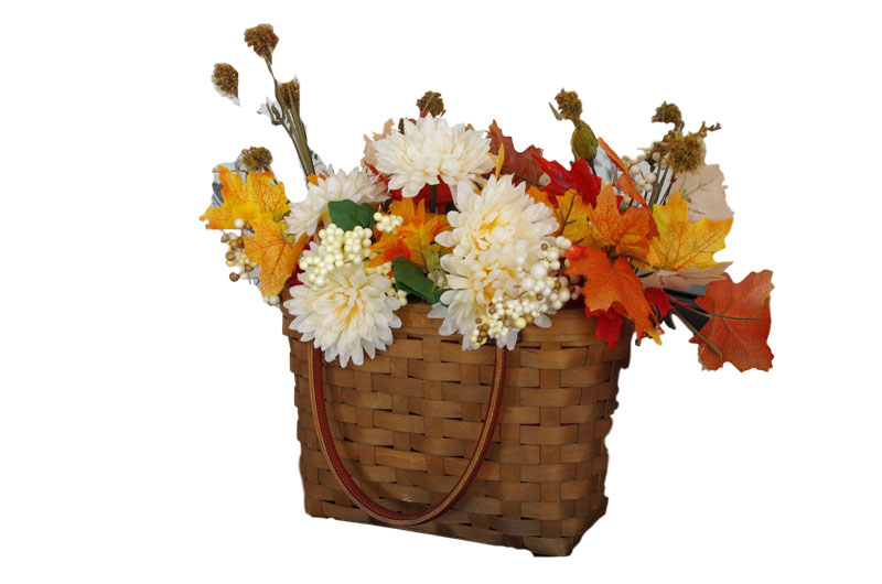 Fall Decorating with Baskets