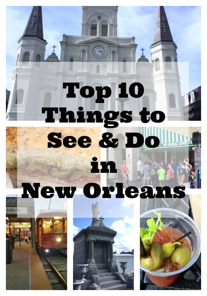 Top ten must see list for new orleans create and babble for Must do things in new orleans