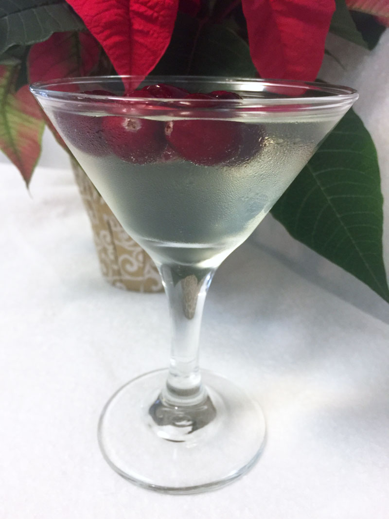 Winter White Cosmopolitan Recipe