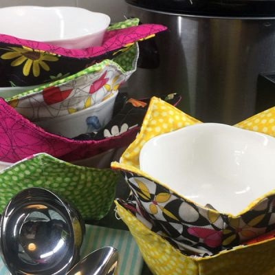 How to Make a Microwaveable Bowl Pot Holder