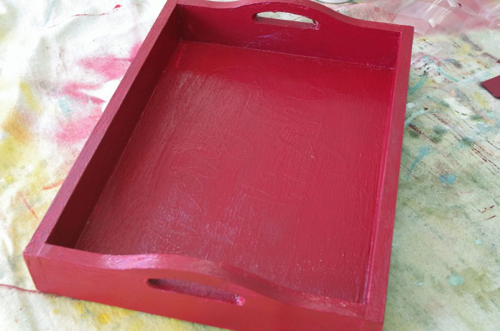 Farmhouse Christmas Serving Tray Create And Babble