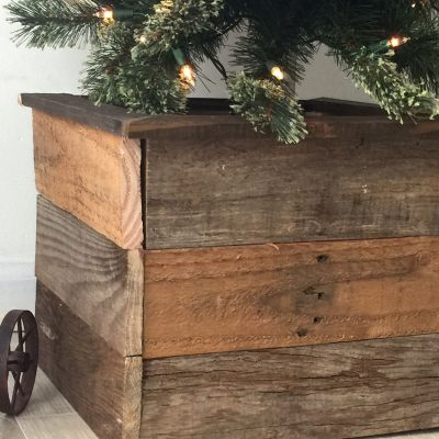 How to Make a Christmas Tree Box