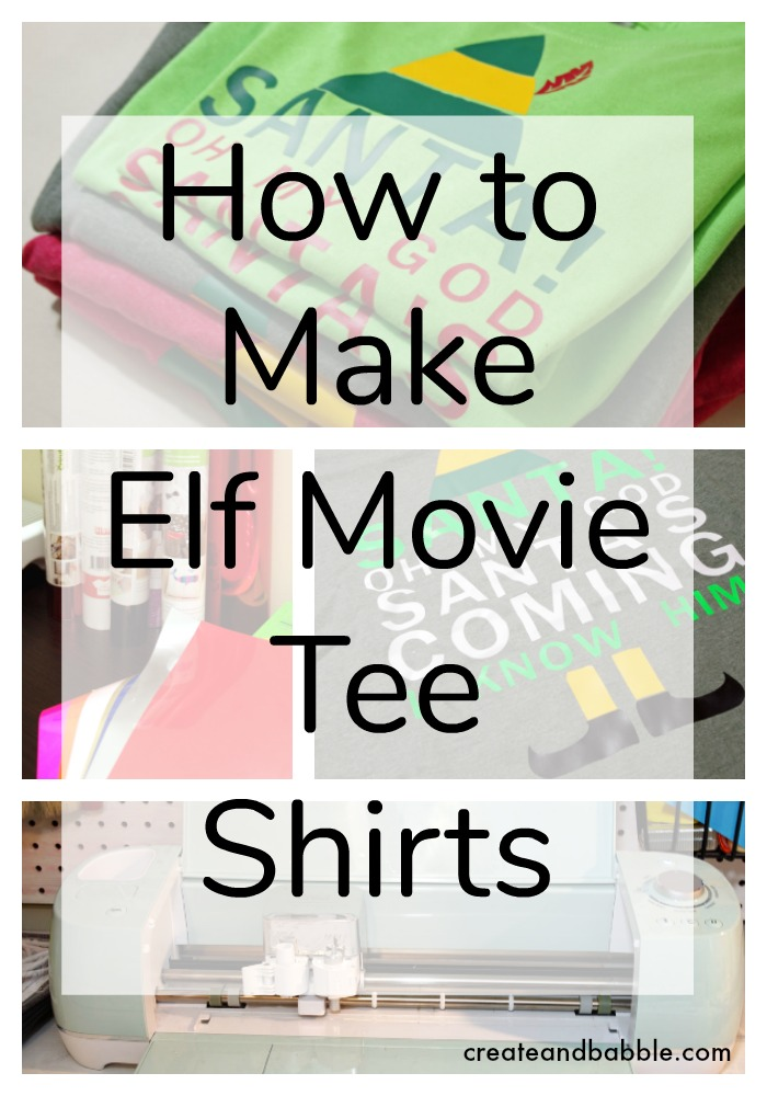 How-to-Make-Elf-Movie-Tee-Shirts