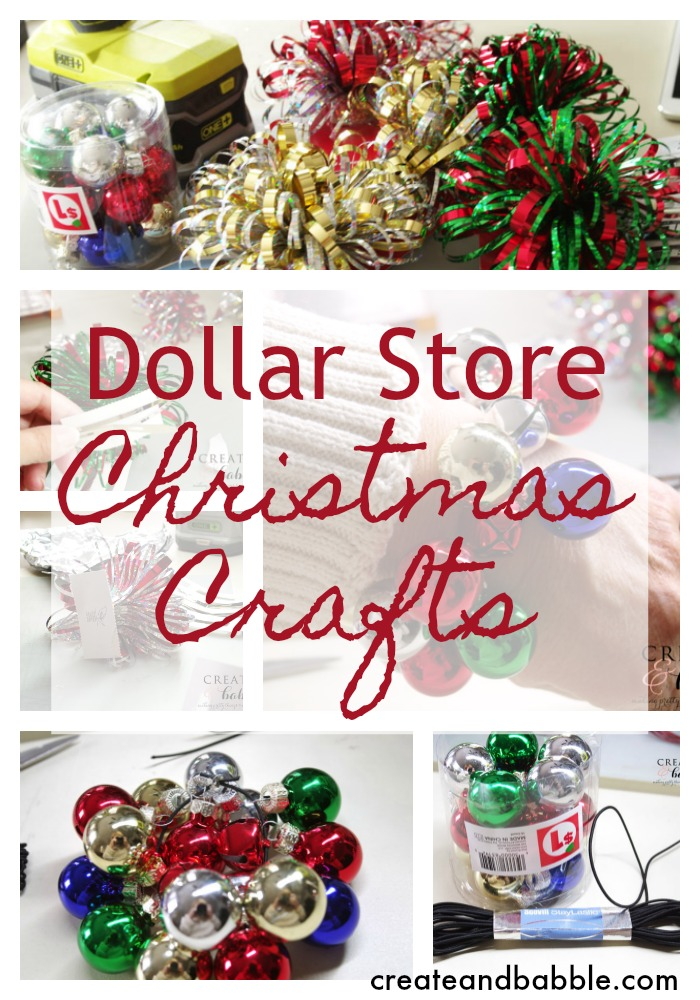 dollar store christmas crafts - Dollar Store Christmas Crafts