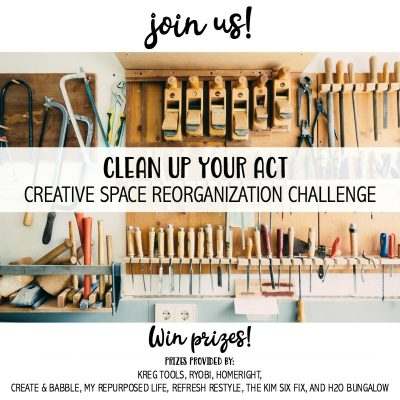 Clean Up Your Act: Creative Space Reorganization Challenge