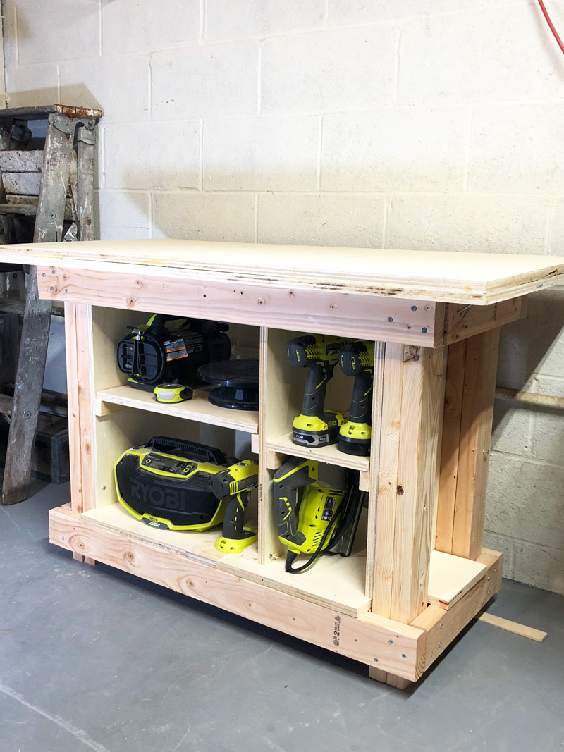 simple DIY workbench