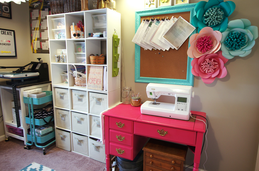 Craft Room Tour Create And Babble