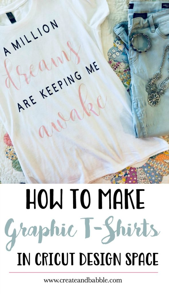 How to Make Graphic T-Shirts in Cricut Design Space