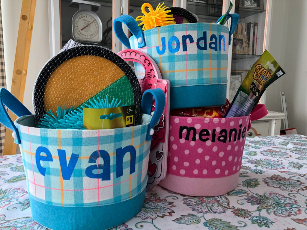 How to Personalize Easter Baskets