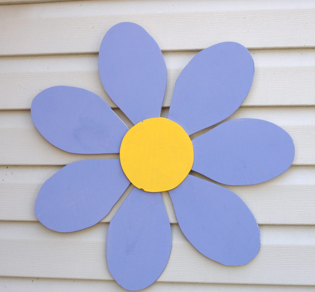How To Make A Wooden Flower Create And Babble