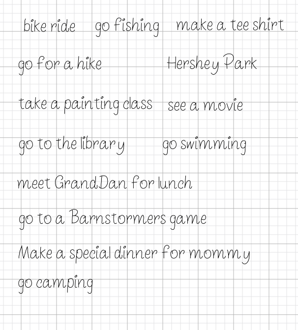 How to Make a Summer Bucket List for Kids and Grandparents