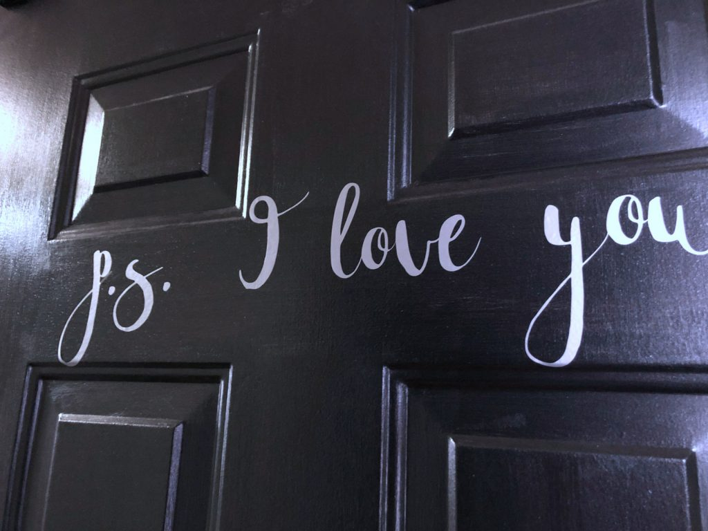 How to make vinyl decals for the front door
