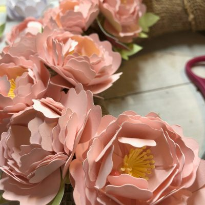 Making Paper Flowers with a Cricut