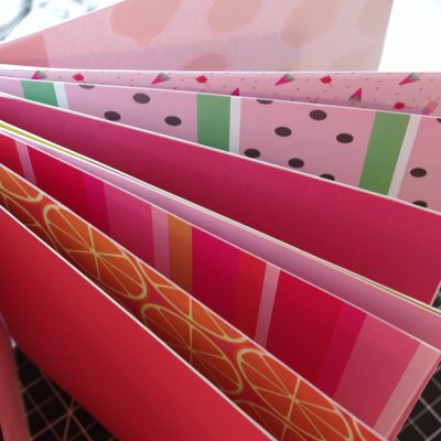 How to Make Accordion Binding for a Thick Memory Book