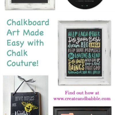 How to Create Chalkboard Art The Easy Way