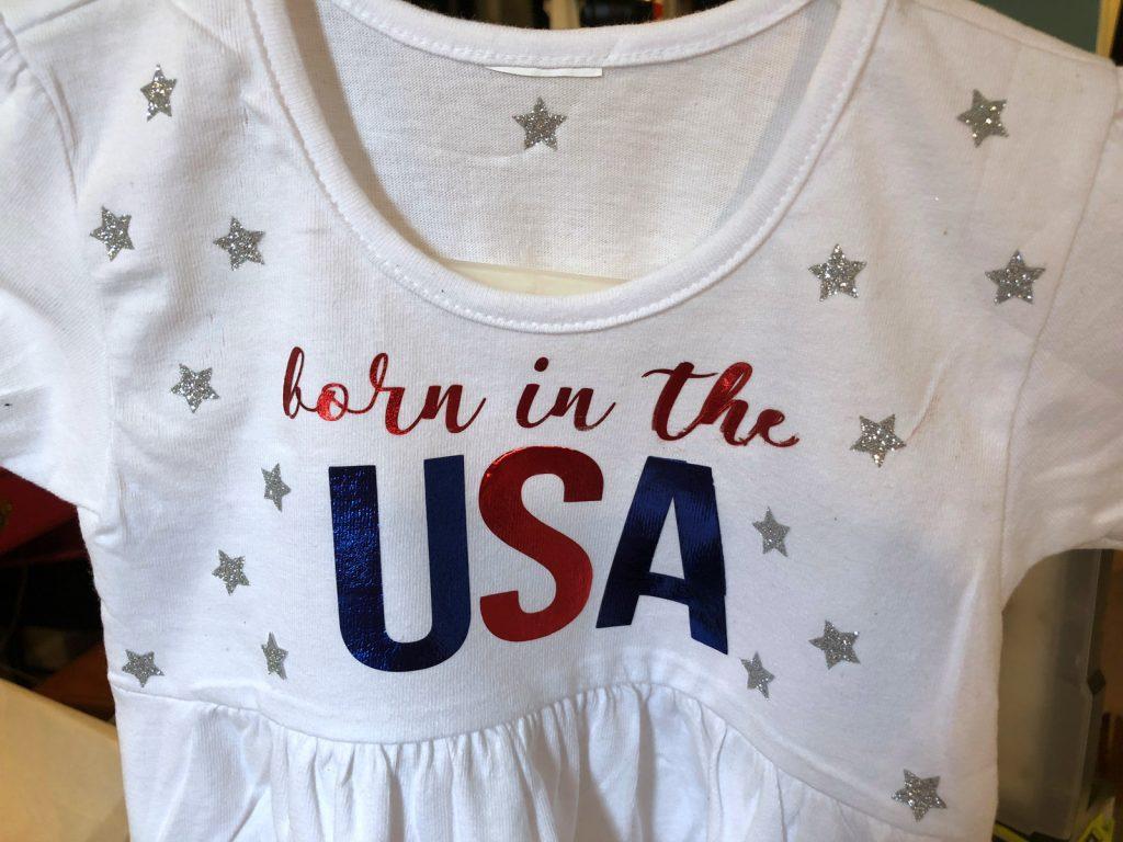 Mama Bear Diy Iron On Shirt With Cricut Explore And Glitter Vinyl Child At