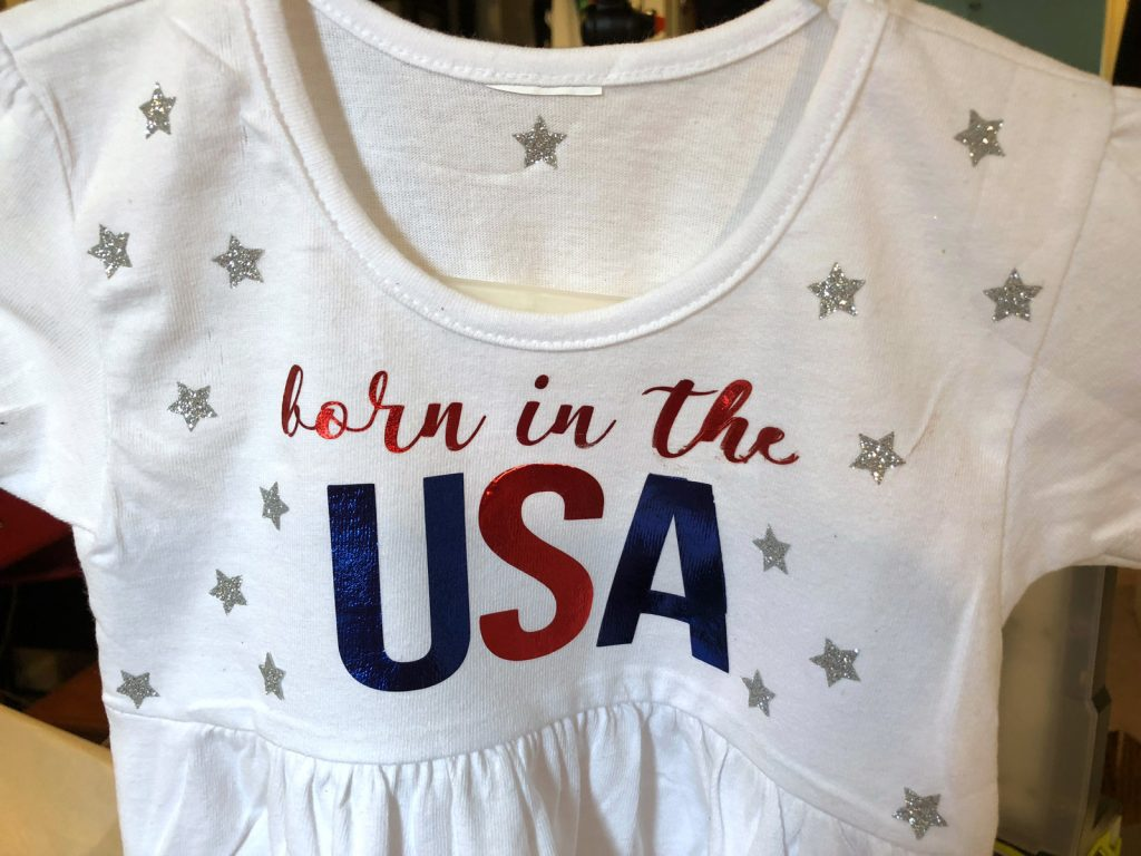 Patriotic Cricut design