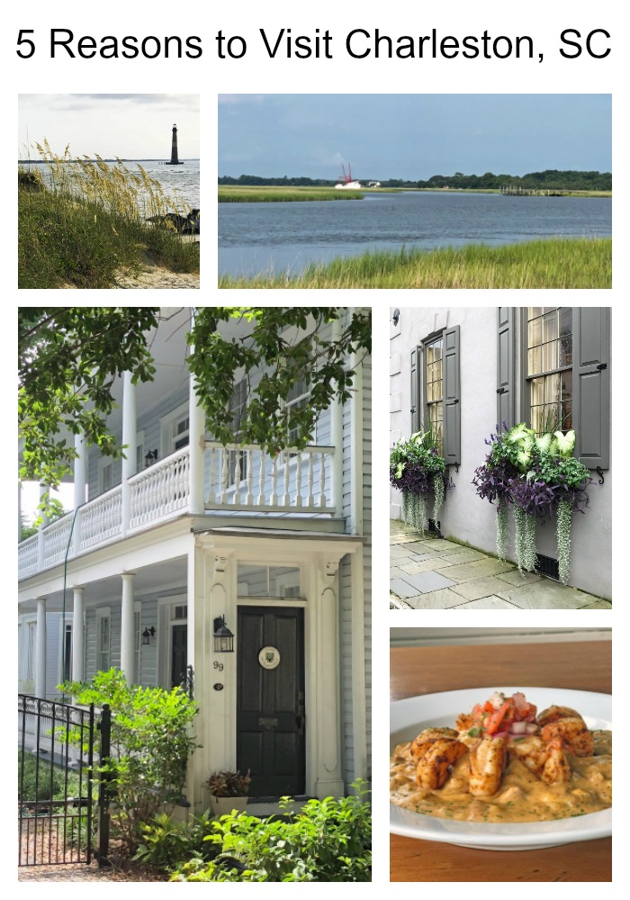 Five Reasons to Visit Charleston, SC