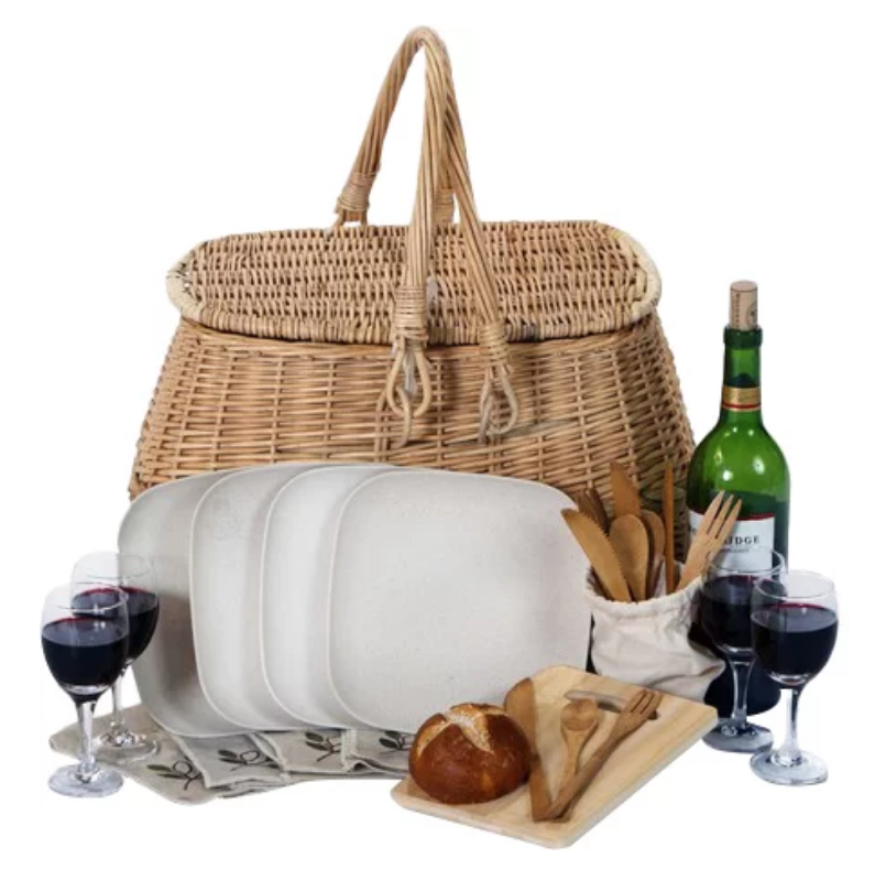 picnic basket from Wayfair.com