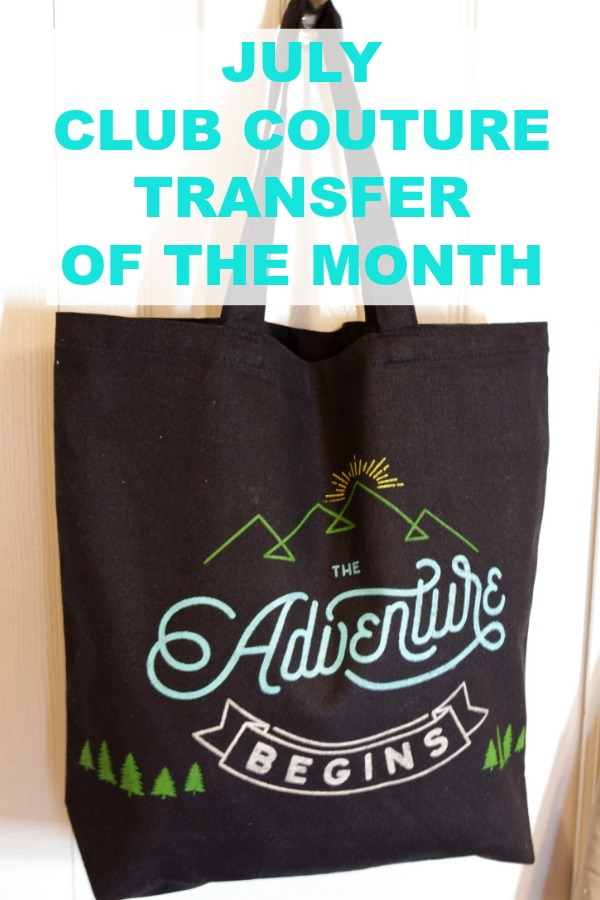 July Club Couture Transfer of the Month