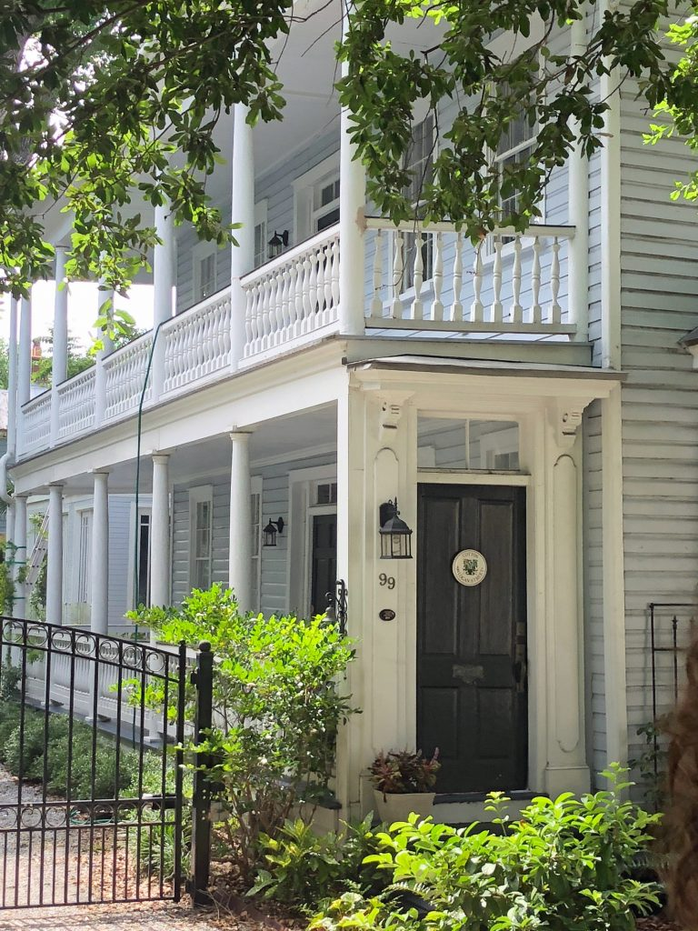 Charleston has the most beautiful porches on beautiful, tree-lined, cobblestone streets.