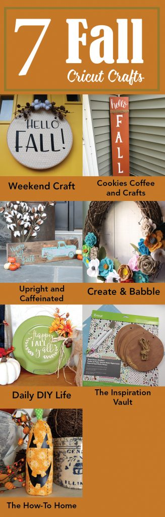 7 Fall Cricut Crafts