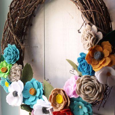 How to Make Felt Flowers Using Cricut Maker