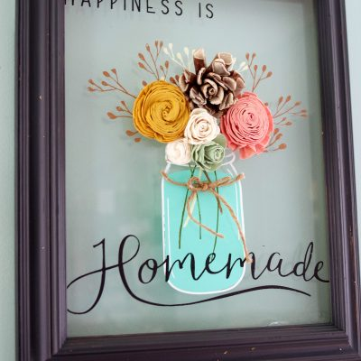 Thrift Store Picture Frame Upcycle