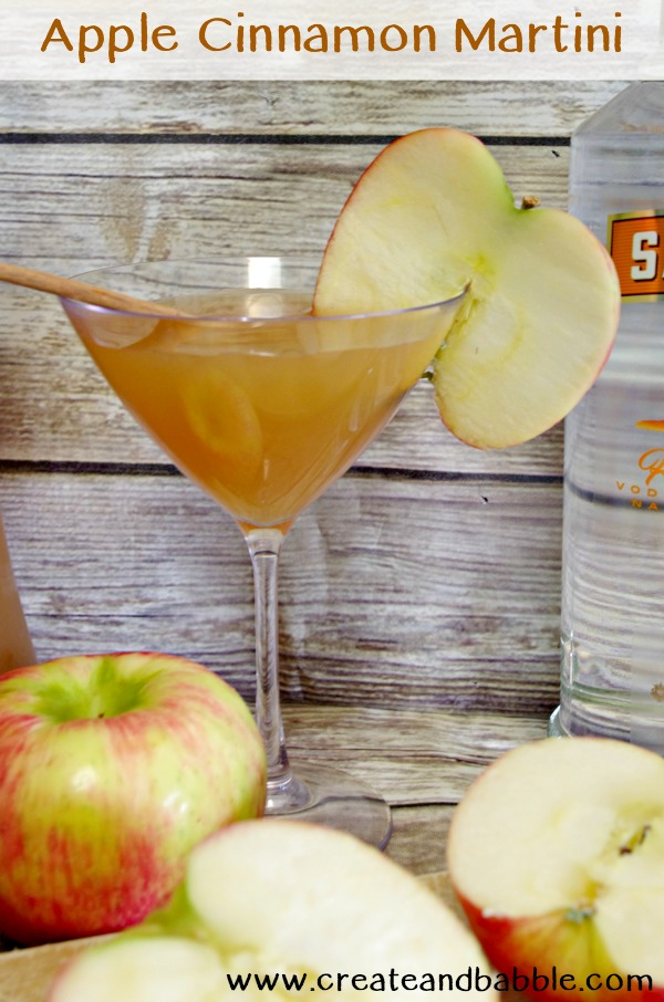 Apple Cinnamon Martini