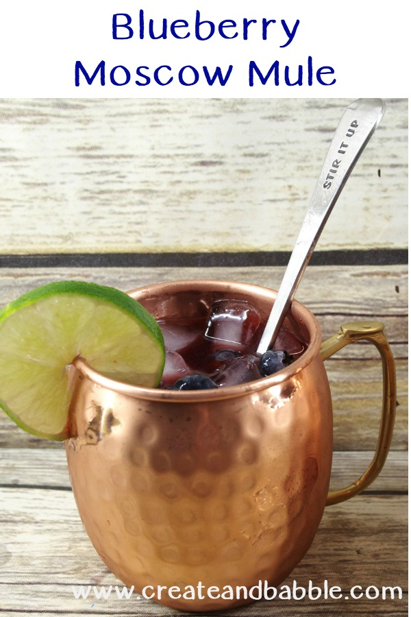 Blueberry Moscow Mules Recipe