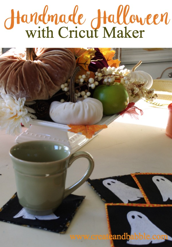 Use Cricut Maker to make Halloween Crafts