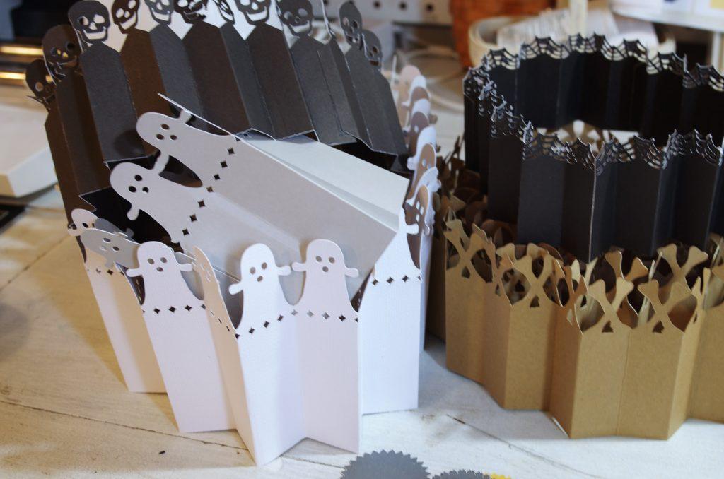 Handmade Halloween Rosettes with Cricut Maker