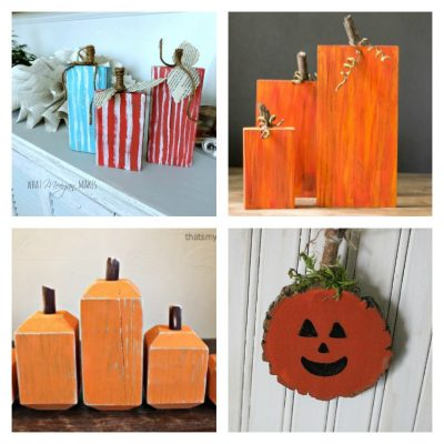 Make Your Own DIY Wood Pumpkins With These Fun Ideas!