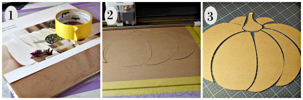 how to cut chipboard with Cricut Maker and Knife Blade