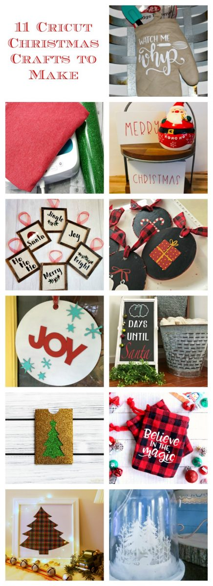 11 Christmas crafts to make with Cricut