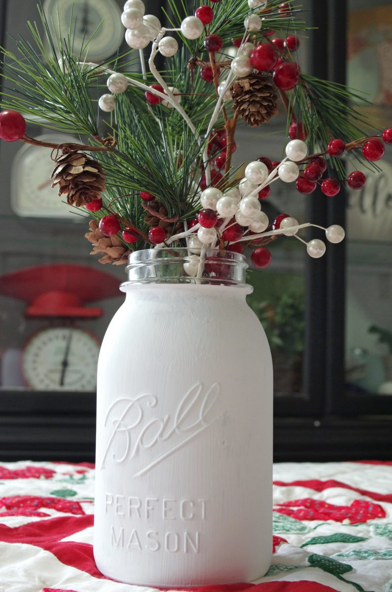 Mason Jar Christmas Craft Create And Babble